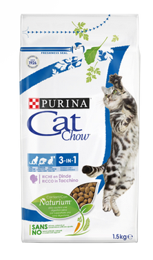 Purina Cat Chow 3in1 with Turkey