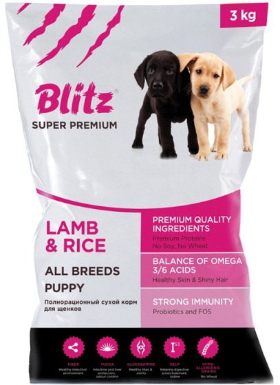Blitz Puppy Lamb & Rice