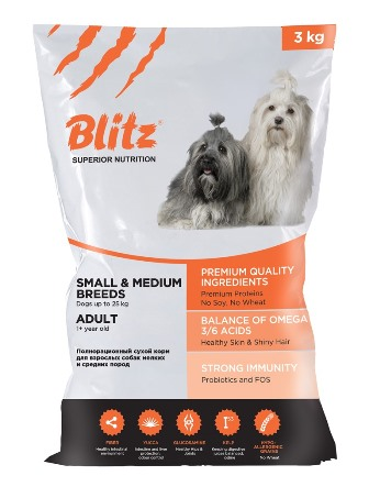 Blitz Adult Small & Medium
